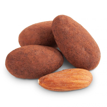 Picture of MILK CHOCOLATE CACAO DUSTED ALMONDS