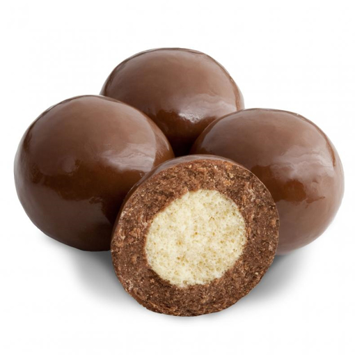 Picture of TRIPLE DIPED MILK CHOCHOLATE MALT BALLS