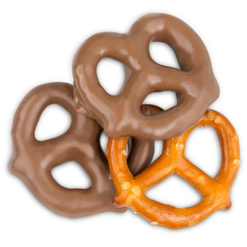 Picture of MILK CHOCOLATE COATED PRETZEL