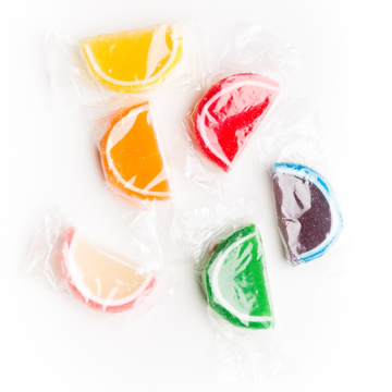 Picture of WRAPPED FRUIT SLICES
