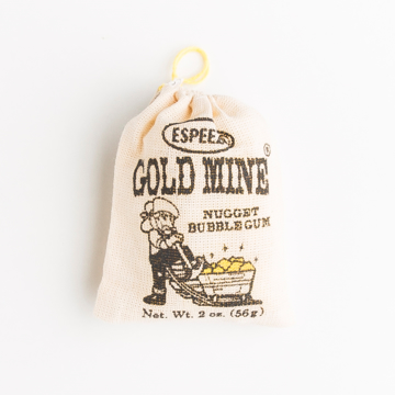 Picture of GOLD MINE NUGGET BUBBLE GUM (DISPLAY 24)
