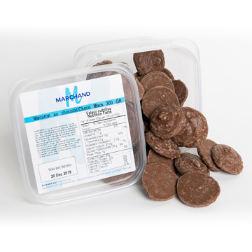 Picture of MILK CHOCOLATE MACS (MARCHAND 12X300 GR)