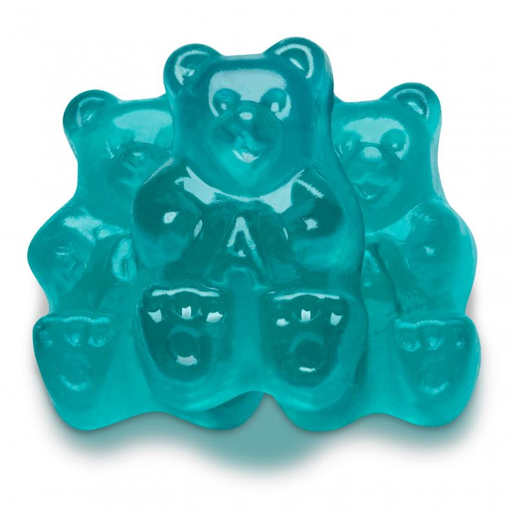 Picture of LIGHT BLUE WATERMELON BEARS