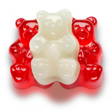 Picture of VALENTINE'S DAY RED & WHITE BEARS