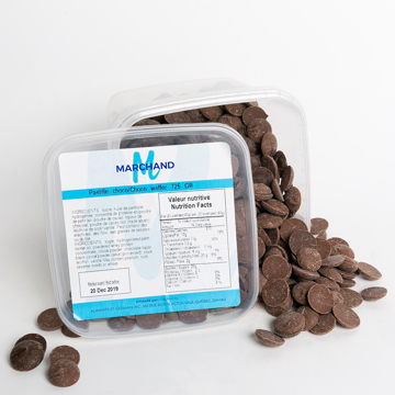 Picture of MILK CHOCOLATE WAFFERS (MARCHAND 8X725 GR)