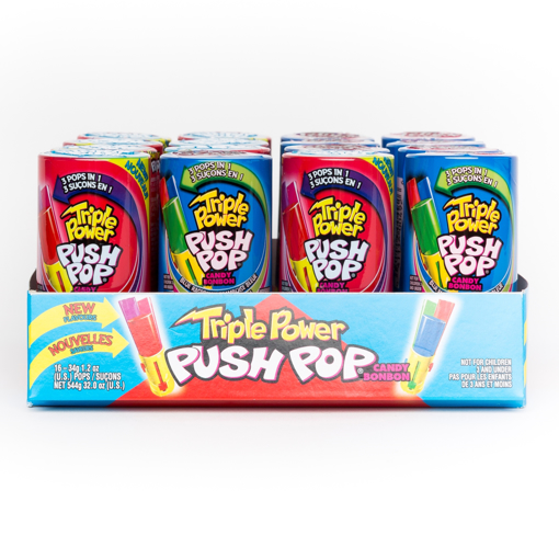 Image sur TRIPLE POWER PUSH POP AUX FRUITS